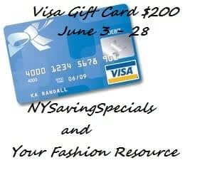 Blog Opportunities – $200 Visa Gift Card Giveaway