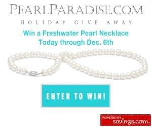 Freshwater Pearl Necklace Giveaway & Deals